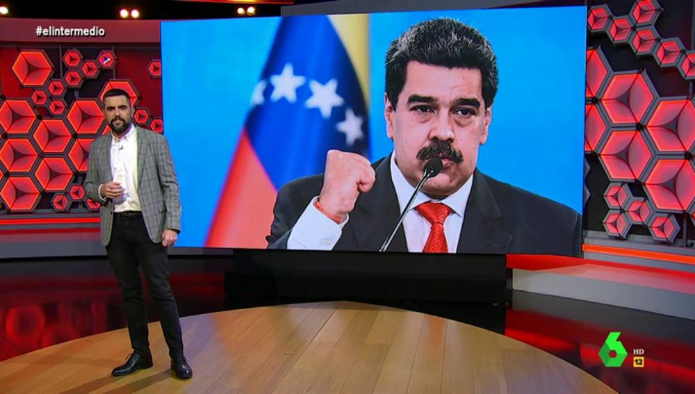 """Nicolás Maduro sufre un """"insólito"""" efecto secundario de la vacuna rusa: """"Ha conseguido la inmunidad y el B2 de ruso"""""""