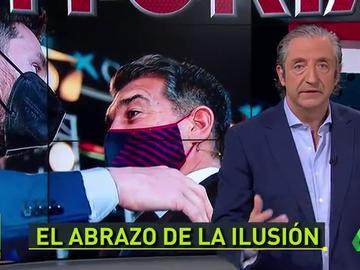 "Pedrerol, sobre el acto de Laporta: ""Me da la sensación de que era un homenaje a Messi"""