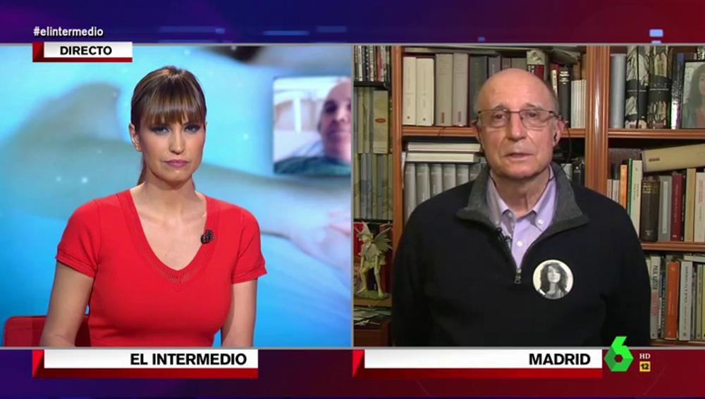 """La emoción de Ángel Hernández al recordar a su mujer en el día de la ley la eutanasia: """"Se fue desgraciadamente pensando en lo que me podía ocurrir a mí"""""""