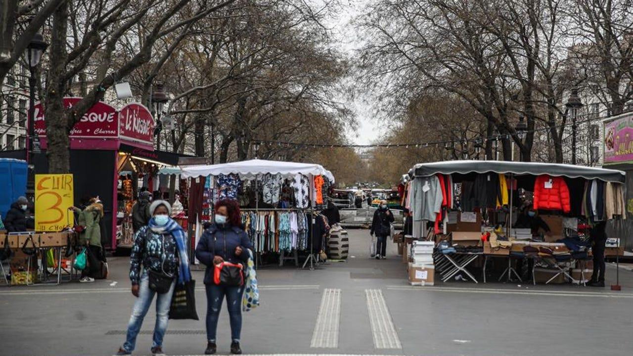 Plaza de Bastilla en París