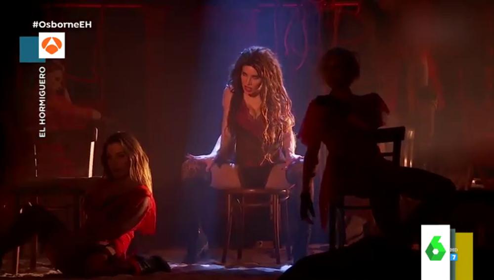 Pilar Rubio sorprende en El Hormiguero con una sensual interpretación del musical 'Nine' por su 43 cumpleaños