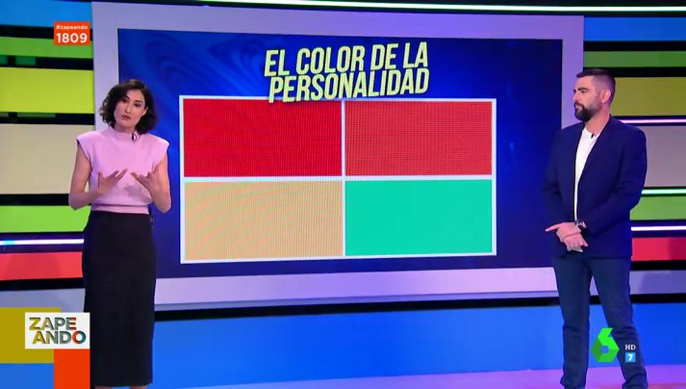 El color de la personalidad