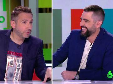 """La desconocida relación de Frank Blanco y Dani Mateo con guiño a Anna Simón: """"Eras joven e inexperto"""""""