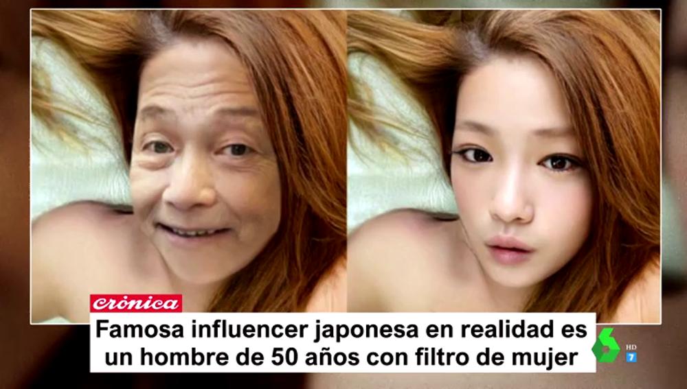 La surrealista historia de la joven influencer japonesa que resultó ser un señor de 50 años