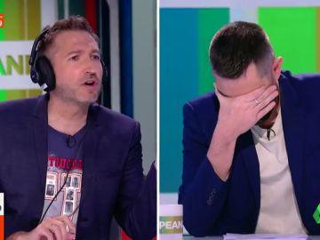"""La entrevista a Frank Blanco con ralentizador de voz que desata la risa en Zapeando: """"Parece que te hayas quedado tocadito de la ruta del bakalao"""""""