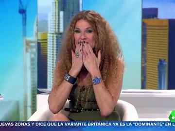 """Angie Cárdenas rompe a llorar en Aruser@s al felicitar a su madre: """"Te queremos"""""""