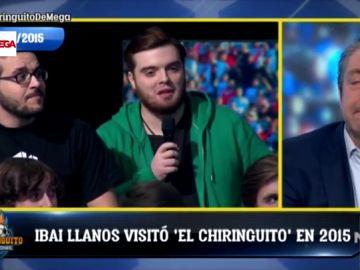 El día que un joven y anónimo Ibai acudió de público a El Chiringuito y acabó acaparando el primer plano