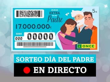 Comprobar resultados del Cupón del Día del Padre de la ONCE, en directo