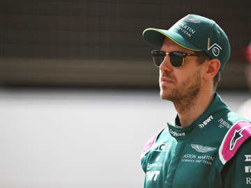 Sebastian Vettel, con Aston Martin