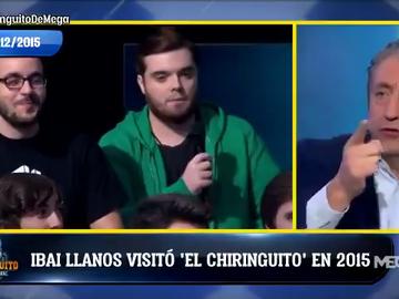 Tremendo documento: el día en que Ibai Llanos asistió de público a 'El Chiringuito'... ¡en diciembre de 2015!