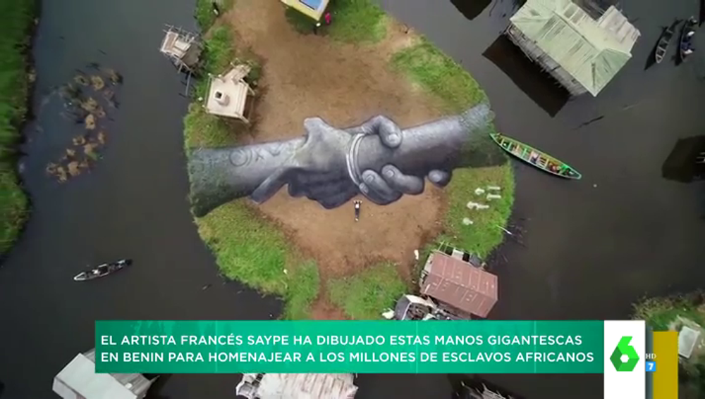 Murales gigantes en azoteas o playas: los grafitis más impactantes del mundo