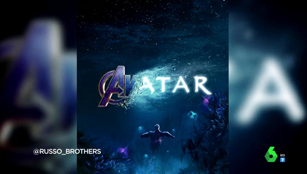 'Avatar' y 'Vengadores' o 'Star Wars' y 'Tiburón': los carteles que reflejan la tradición de fusionar las películas más vistas de la historia