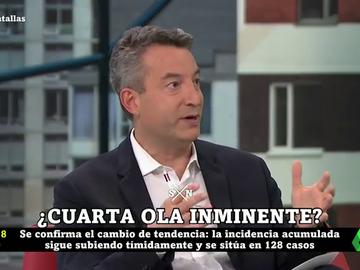 """La pregunta de César Carballo a los políticos ante la """"preocupante"""" situación de la pandemia: """"¿Nos vamos a mover de ola a ola entre puentes?"""""""