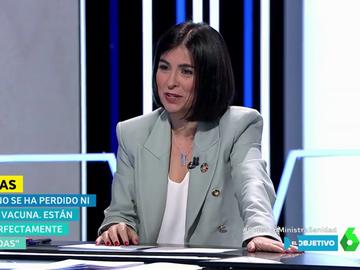 """Carolina Darias desmiente que se hayan perdido vacunas contra el coronavirus: """"Me cuadra hasta el último viral"""""""