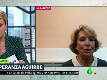 Esperanza Aguirre en Liarla Pardo