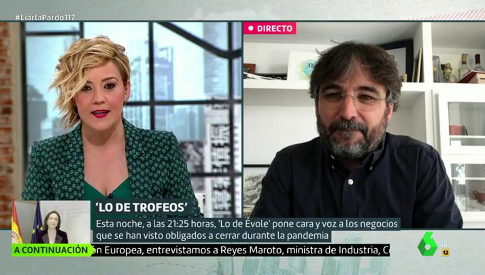 """El análisis de Jordi Évole sobre el discurso de Errejón: """"Tuvo un nivel muy alto, pero sin el exabrupto del diputado del PP habría pasado sin pena ni gloria"""""""