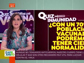 """La advertencia de Boticaria García sobre la vuelta a """"la normalidad"""": """"El 70% de vacunados se queda corto"""""""