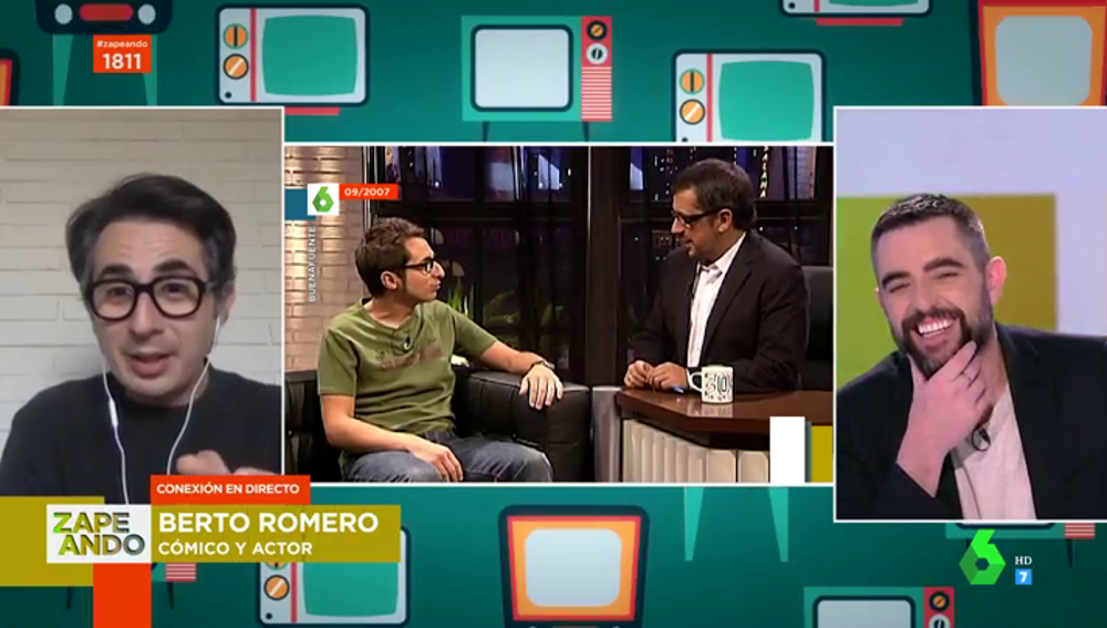 Berto Romero recuerda sus inicios en laSexta tras 15 años de emisión