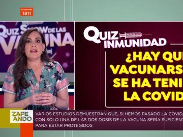 ¿Se deben vacunar las personas que han pasado el coronavirus? Boticaria García te explica las dudas de la inmunidad