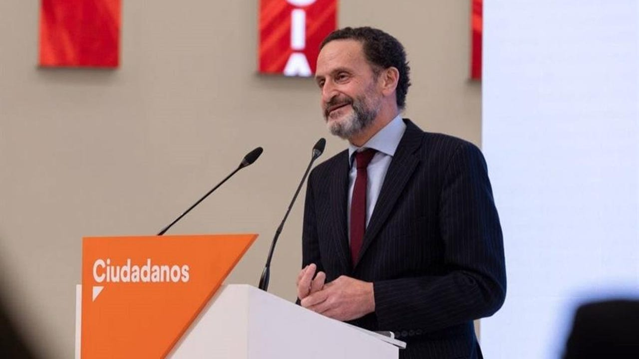 El portavoz nacional de Ciudadanos y candidato a la presidencia de la Comunidad de Madrid, Edmundo Bal