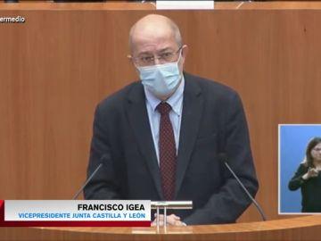 El lapsus de Igea al definir a Luis Tudanca con la palabra equivocada