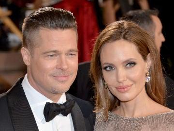 Angelina Jolie y Brad Pitt.