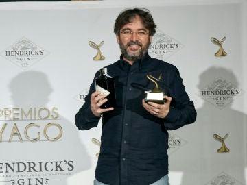Jordi Évole en la gala de los Premios Yago
