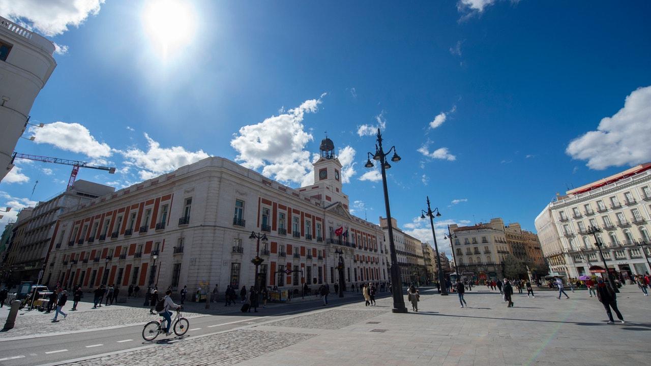 Puerta del Sol, en Madrid.