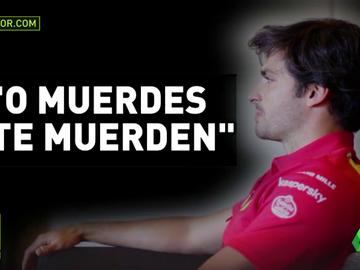 """Carlos Sainz y el consejo de su padre: """"O muerdes o te muerden"""""""