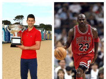 Djokovic y Jordan