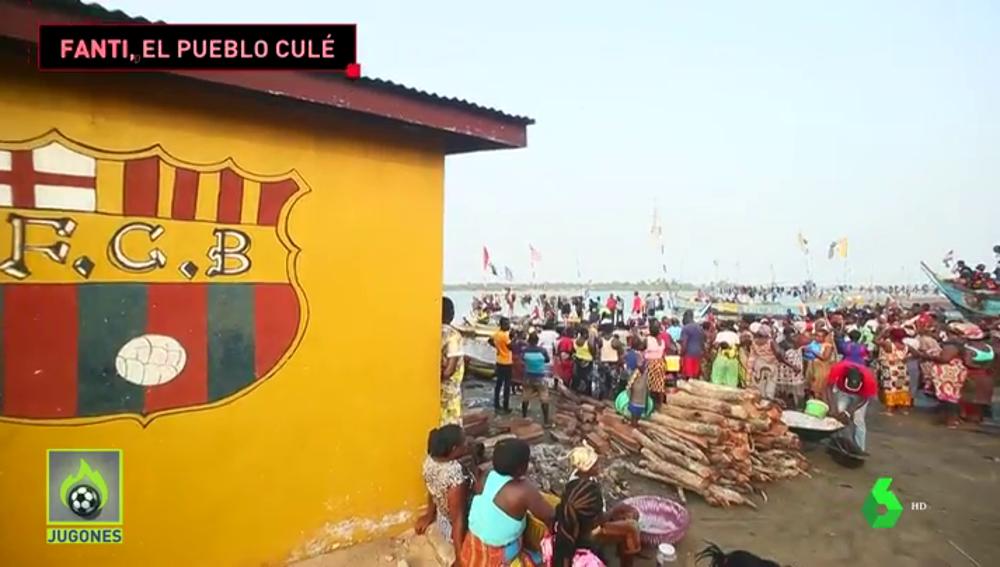 Fanti, el 'recinto Barcelona': la historia de un pueblo que ama el Barça