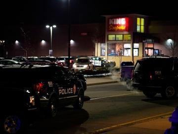 Imagen del lugar del tiroteo, a las afueras de Denver