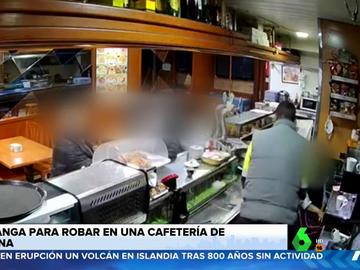 Droga a una camarera para robar la caja registradora de un bar de Barcelona