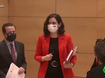 Vídeo manipulado - El paseíllo de Isabel Díaz Ayuso al rimo de Lolita Sevilla