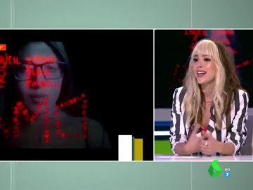 """El mensaje feminista de Danna Paola sobre su hit 'Calla tú': """"Habla de parar la violencia contra la mujer. ¡Ni una más!"""""""