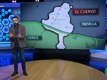 Los problemas de vivir en El Cuervo, un pueblo entre dos provincias, cuando hay cierre perimetral