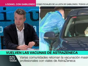 La advertencia del doctor Carballo explicando por qué la vacuna de AstraZeneca podría no servir en el futuro