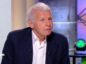 El presentador Patrick Poivre d'Arvor