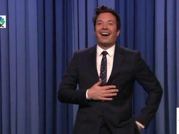 """La emoción y sorpresa de Jimmy Fallon al volver a ver público en su programa: """"¡No puede ser!"""""""