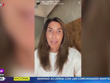 Paz Padilla desvela que estuvo ingresada tres días por el coronavirus