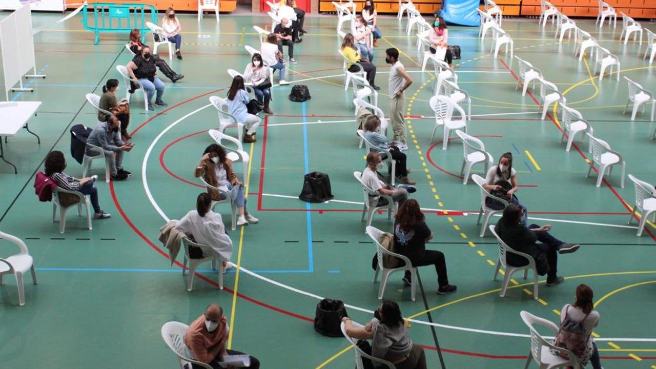 Vacunación de docentes frente al COVID en Albacete
