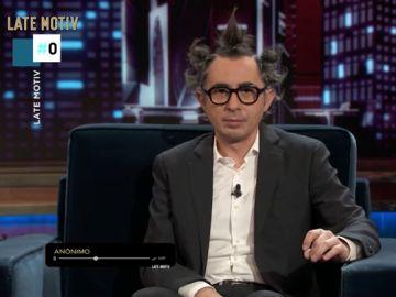 El escatológico mensaje de un espectador a Berto Romero en su 'consultorio semanal'