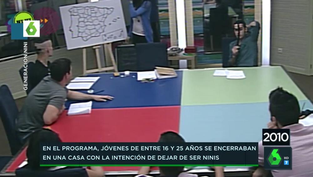 El lamentable debate geográfico sobre dónde está Zaragoza entre varios adolescentes del reality 'Generación Nini'