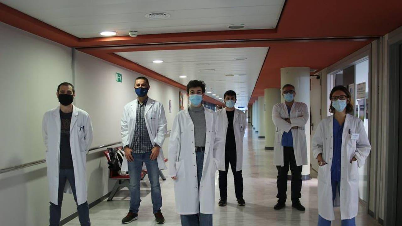 Científicos responsables del estudio