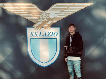 Daniel Guerini, jugador del Primavera Lazio