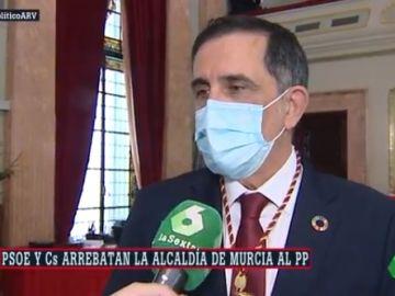 El nuevo alcalde de Murcia, José Antonio Serrano