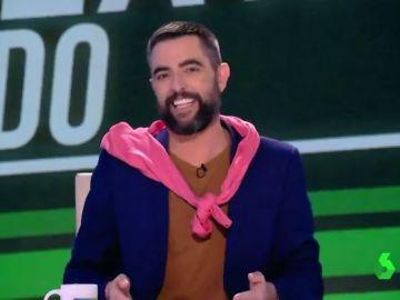 """La impecable imitación de Dani Mateo a 'el esmirriao', """"el exnovio de Falete que se hizo pasar por homosexual"""""""
