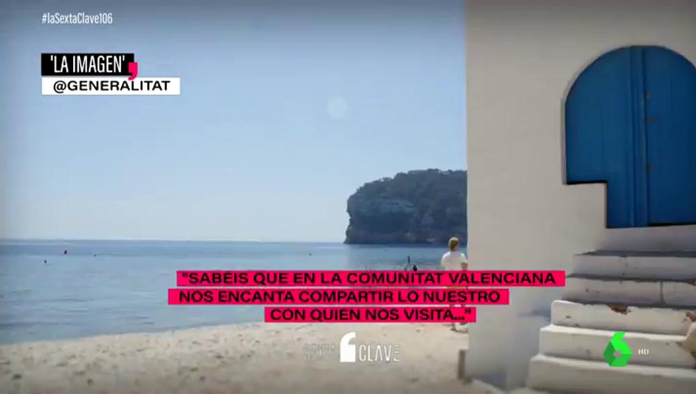 """El anuncio de la Comunitat Valenciana dirigido a los madrileños de cara a Semana Santa: """"Pronto estaremos juntos, os queremos"""""""