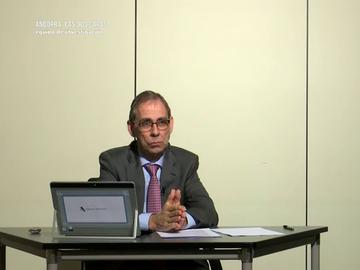 Javier Hurtado, miembro de la Agencia Tributaria
