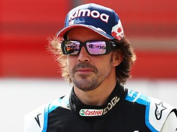 Fernando Alonso, en Sakhir